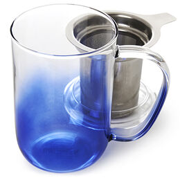 Nordic Mug Glass Gradient Deep Sea