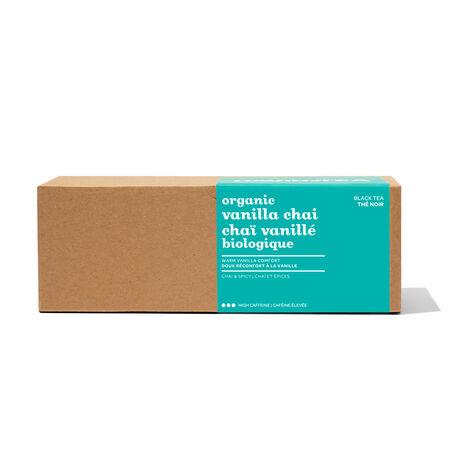 Chaï vanillé biologque - boîte de 25 sachets
