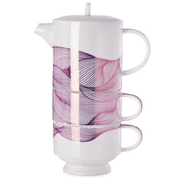 Tea for Two Knotted Roots Metallic Rose