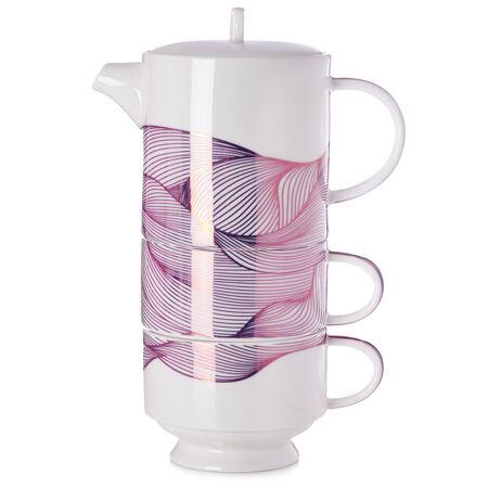 Rose Metallic Tea for Two