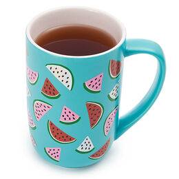 Nordic Mug Holographic Watermelon Teal