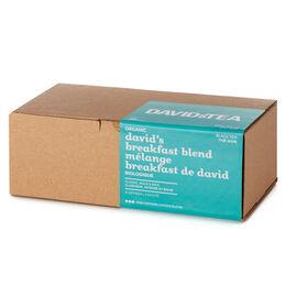 Boîte de 25sachets Mélange Breakfast de David biologique