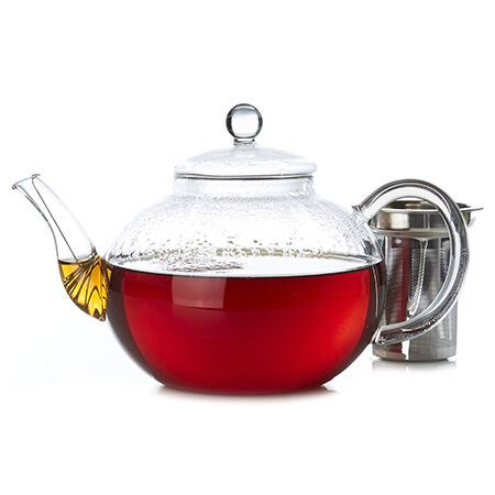 Clear Glass Teapot