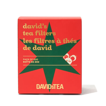 Mouse David's Tea Filters Pack of 200