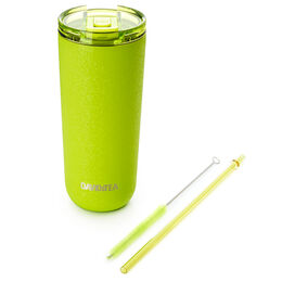 Favourite Tumbler Crackled Lime Green