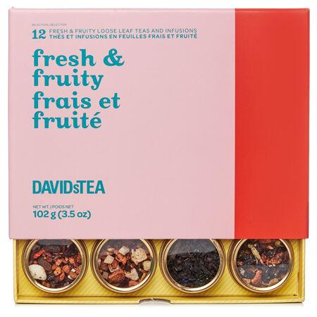 Fruity Refresh 12 Tea Sampler