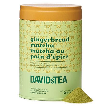 Gingerbread Matcha Iconic Tin