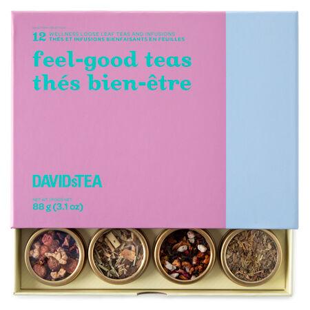 Feel-good Teas 12 Tea Sampler