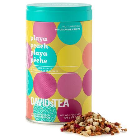 Playa Peach - limited edition printed tin