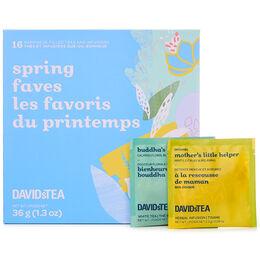 Spring Faves Mini Sachet Tea Chest