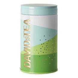 Seasonal Tea Tin Geometric