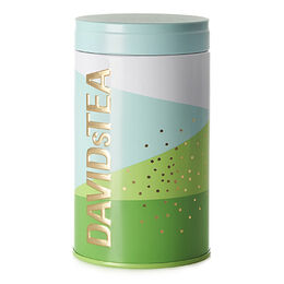 Seasonal Tea Tin Geometric