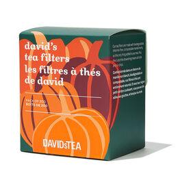 Boîte de 200 filtres à thé Les Thés DAVIDsTEA Citrouilles
