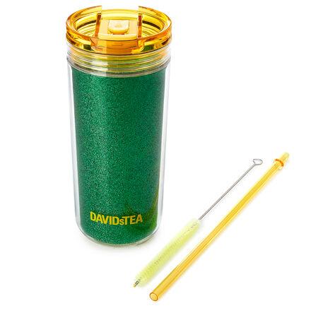 Green Glitter Tritan Favourite Tumbler