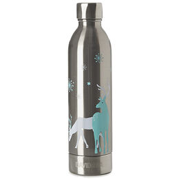 Stainless Steel Bottle Reindeer
