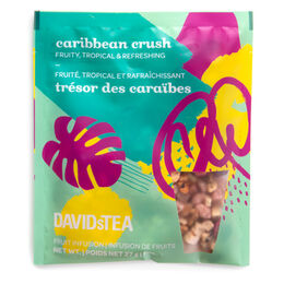 Portion pour pichet de thé glacé Trésor des Caraïbes