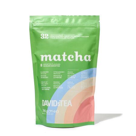Matcha Single Serves Mixed Bag