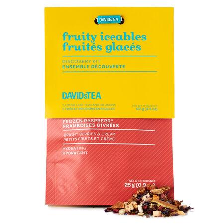 Ensemble dégustation de thés découverte Fruités glacés