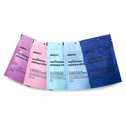 Cold survival tea sampler