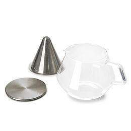 CARAT Glass tea pot