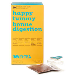Boîte de 20 sachets de thés assortis Bonne digestion