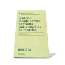 Vanilla Matcha Single Serves