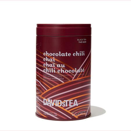 Boîte iconique Chaï au chili chocolaté