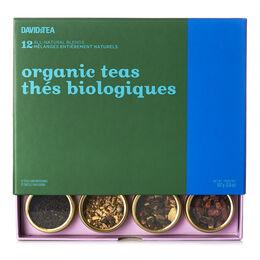 Organic Teas 12 Tea Sampler