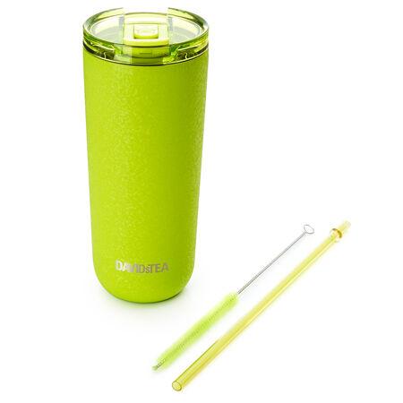 Gobelet préféré vert lime à fini craquelé