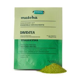 Ensemble dégustation découverte Matcha
