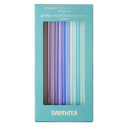 Reusable tritan straw & brush set