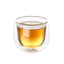 Double Walled Glass Cup