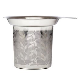 Perfect Infuser Leaves Cutout Silver