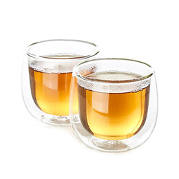 Clear Glass Tumblers (set of 2)