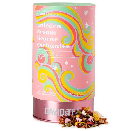 Grand solo de thé Licorne enchantée - Série limitée boîte imprimée