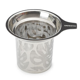 Perfect Infuser Palms Cutout Silver