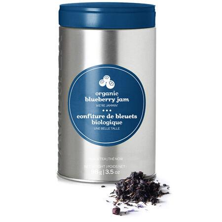 Organic Blueberry Jam Perfect Tin