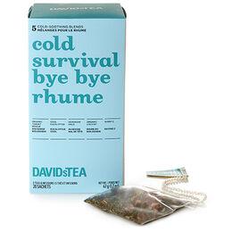 Cold Survival Tea Sachet Variety Pack