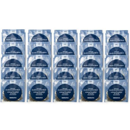 Organic David's Breakfast Blend Sachets Pack of 25