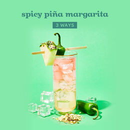 Spicy Piña Margarita