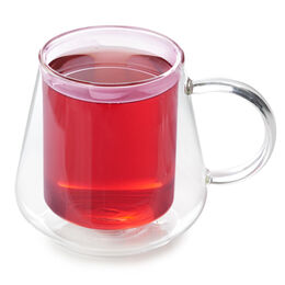 Double Walled Diamond Cup Pink
