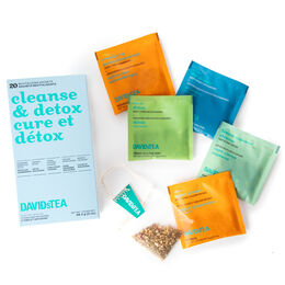 Cleanse & Detox Tea Sachet Variety Pack of 20