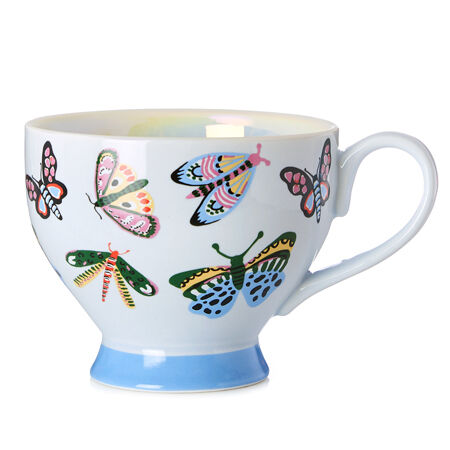 Butterfly Winter Ice Bloom Teacup