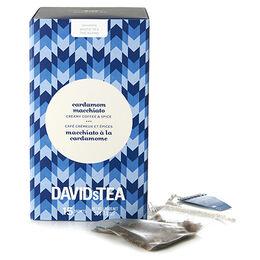 Sachets de thé Macchiato à la cardamome