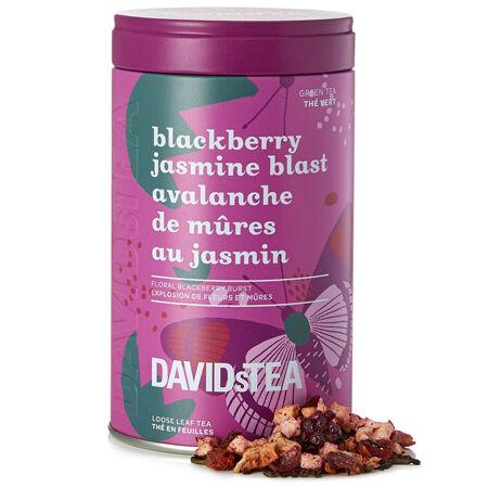 Blackberry Jasmine Blast – Limited Edition printed tin