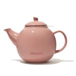 Bubble Teapot Glossy Tan