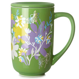 Colour Changing Nordic Mug Floral Bliss Leaf