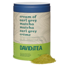 Cream of Earl Grey Matcha Iconic Tin