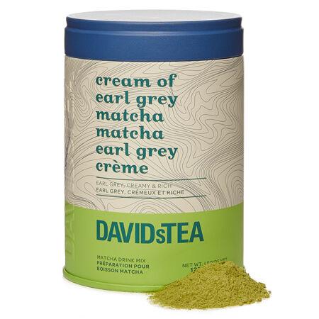 Boîte iconique Matcha Earl Grey crème