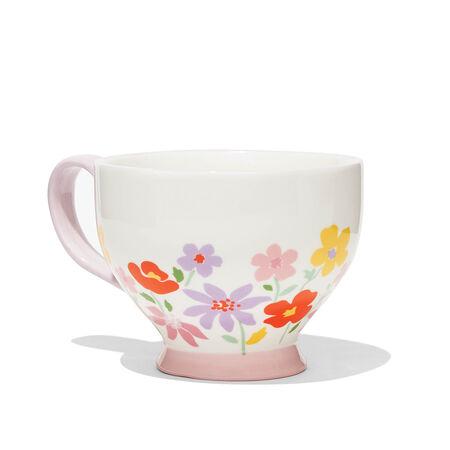 Strawberry Bloom Teacup